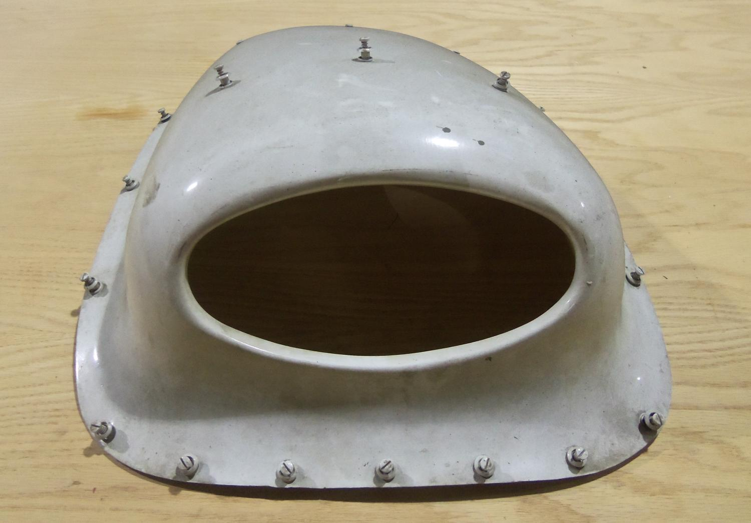PIPER APACHE OR AZTEC COWLING AIR SCOOPS, LEFT & RIGHT PAIR