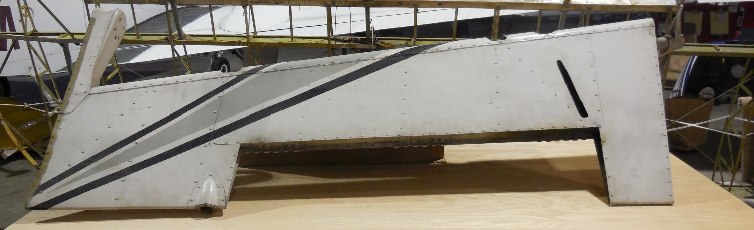 PIPER AZTEC PN16199-12 RUDDER ASSEMBLY