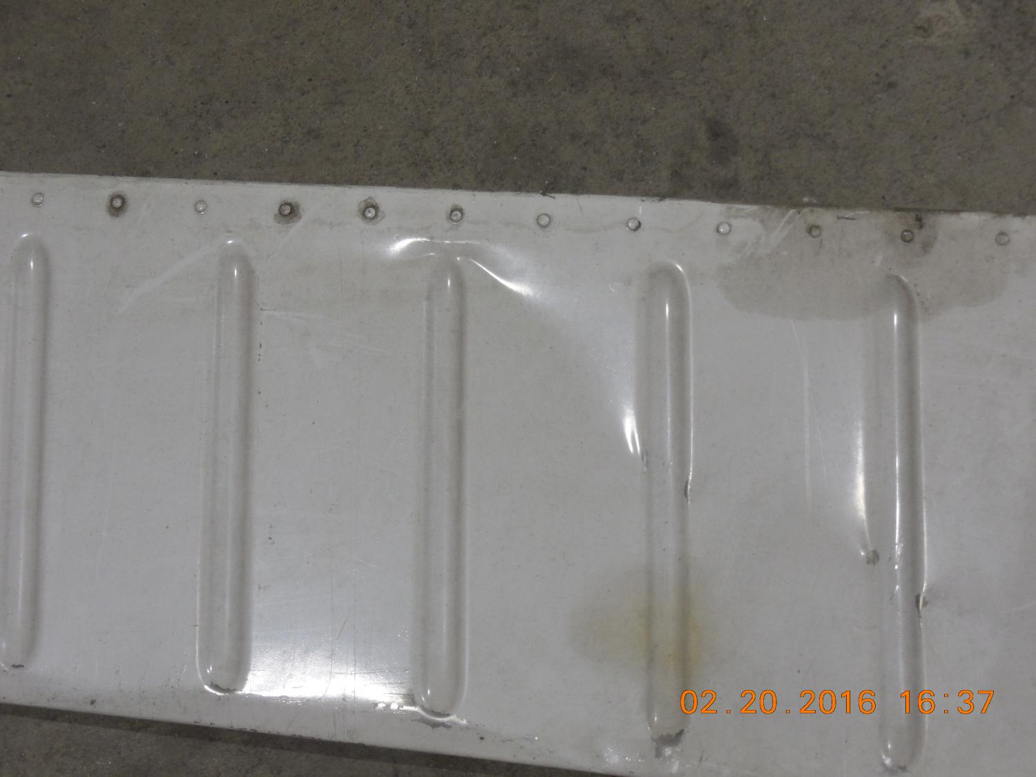 PIPER PA28-161 PN35640-901 RH AILERON (SLIGHT DAMAGE OUTER SKIN PANEL)
